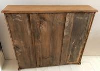 Small Late Victorian Pine Bookshelf (4 of 5)
