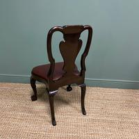 Set of 8 Edwardian Antique Walnut Dining Chairs (11 of 13)