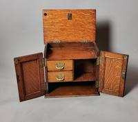 Antique Victorian Oak Smokers Cabinet, Arts & Crafts (11 of 14)