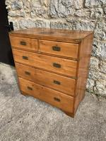 19th Century Pine Campaign Chest (4 of 5)