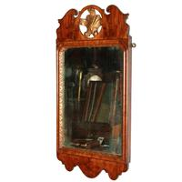 George I Walnut Framed Mirror (3 of 7)