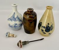 Trio of Chinese Snuff Bottles c.1920 (2 of 7)