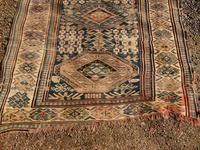 Antique Caucasian Karabagh Large Rug (4 of 9)