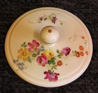 Antique Royal Worcester Blush Ivory Lidded Jar (4 of 8)