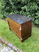 French Empire Commode in Flame Mahogany (9 of 10)