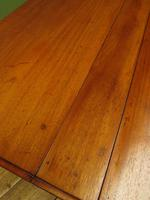 Antique 19th Century Sutherland Table, Drop Leaf Occasional Table for afternoon tea (10 of 17)