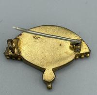 Micro Mosaic Fan Shaped Brooch (8 of 11)