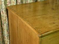 Regency Stripped Pine Chest of Drawers with Original Knobs (4 of 8)