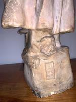 Large Terracotta Figure by Frederic Goldscheider (8 of 8)