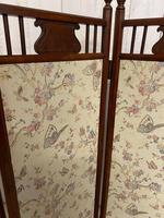 Edwardian Panelled Dressing Screen (3 of 5)