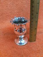 Antique Sterling Silver Hallmarked Tulip Vase 1900 Goldsmiths & Silversmiths Co Ltd 60g (7 of 9)