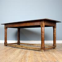 18th Century English Oak Refectory Table