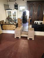 Limed Oak Art Deco Dressing Table Vanity Stand (2 of 11)