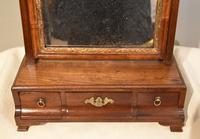 18th Century Mahogany Box Dressing Table Mirror (4 of 4)