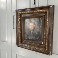 Antique Belgian Flemish Oil Painting Portrait of Polydoor Lippens (7 of 10)