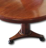 Superb Pair of Victorian Mahogany Round Tables (7 of 8)