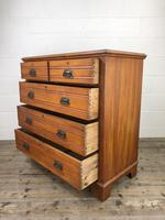Edwardian Satinwood Chest of Drawers (6 of 10)