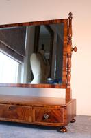 19th Century Mahogany Dressing Table Mirror with Three Drawers (3 of 21)