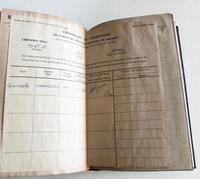 1950's Hand Written  Flying Log Book  with Photographs (4 of 7)