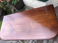 Antique Mahogany Side Table Desk (9 of 11)