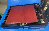 Victorian Full Brassbound Rosewood Writing Slope (14 of 19)