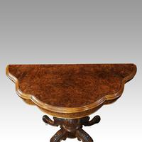 Victorian Walnut Card Table (8 of 10)