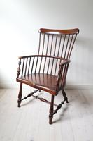 Victorian Scottish Darvel High Comb-backed Windsor Chair, Late 19th Century (4 of 31)