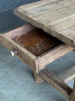 Normandy Oak Farmhouse Table & Bench Set (16 of 19)