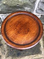 Edwardian Inlaid Mahogany Tripod Wine Table (3 of 7)