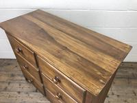 Antique Mahogany Chest of Six Drawers (6 of 9)