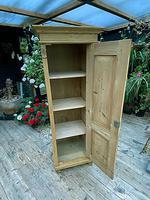 Fabulous Old Stripped Pine Pine Cupboard / Cabinet/ Wardrobe (9 of 11)