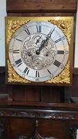Outstanding Oak Grandfather Clock - William Evans (2 of 13)