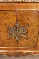 Burr Walnut Queen Anne Style Sideboard Server c.1930 (11 of 16)