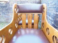 Pair of Arts & Crafts Chairs - Goodyers (5 of 9)