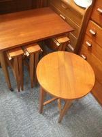 Teak Nest of 4 Tables (2 of 2)