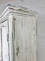 Distressed Painted Antique Pine Cupboard (5 of 10)