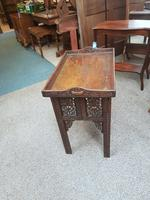 Indian Hardwood Drinks Table (3 of 9)