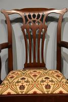 18th Century Chippendale Period Mahogany Armchair (4 of 7)