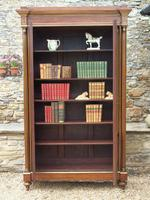 19th Century French Directoire Style Mahogany Bookcase Cabinet (11 of 11)
