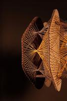 Very Decorative & Stylish Art Illuminated Sculpture in the Style of Naum Gabo (3 of 6)