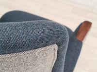 Danish Design 1960s, Restored Armchair, Nevotex Furniture Wool (8 of 14)