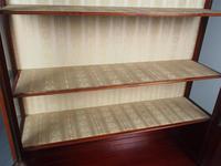 Antique Sheraton Style Inlaid Mahogany Display Cabinet (17 of 18)