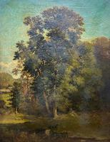 Antoine Chintreuil Fine 19th Century French Barbizon Landscape Oil Painting (2 of 13)