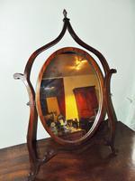 Mahogany Mahogany Framed Dressing Mirror (2 of 6)