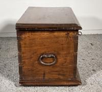 Small Spanish Walnut Chest From The 17th Century, (7 of 8)