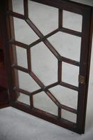 Small Antique Astragal Wall Hanging Cabinet (7 of 11)