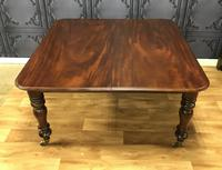 Victorian Mahogany Dining Table with two additional leaves (10 of 11)