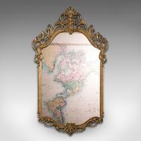 Large Antique Wall Mirror, Italian, Gilt Metal, Hall, Bedroom, Rococo, Victorian (2 of 12)