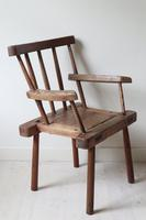 19th Century Irish 'Country / Vernacular' Hedge Chair from Co. Antrim (9 of 45)