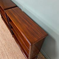 Pair of Edwardian Mahogany Antique Bookcases by John Taylor (2 of 6)